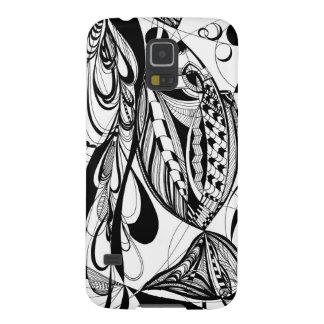Black & White fish   Samsung Galaxy S5 Galaxy S5 Cover