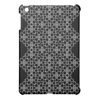 Black & White Floral Case For The iPad Mini