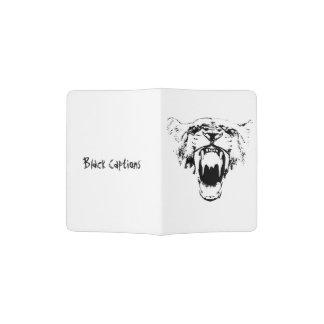 Black & White Hear My Roar! - Passport Holder