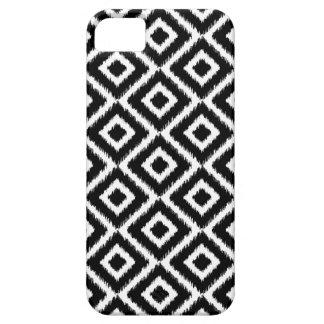 Black & White Ikat Diamonds iPhone 5 Cover