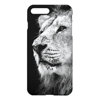 Black & White Lion iPhone 7 Plus Case