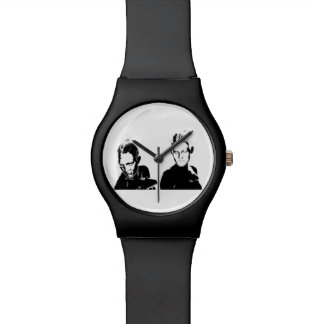 Black&White stencil, women Watch