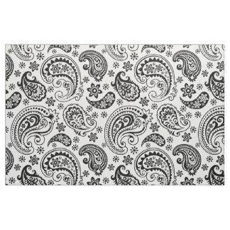 Black & White Vintage Paisley Pattern