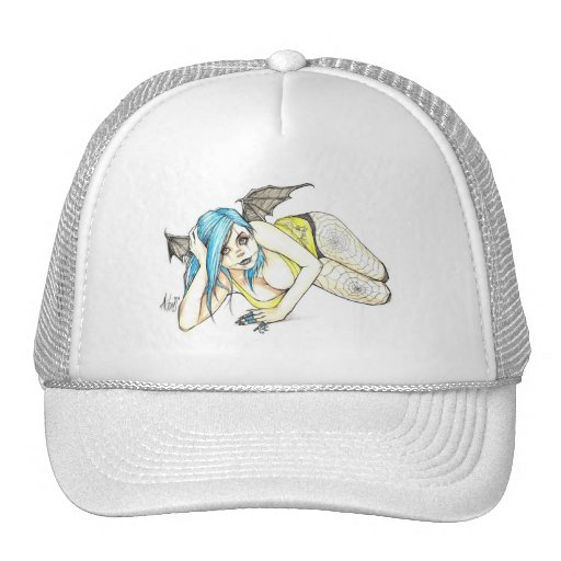 Black Winged Succubus Hats