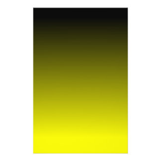 Black Yellow Ombre Flyer