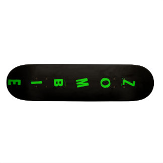 black, ZOMBIE Skateboard Deck