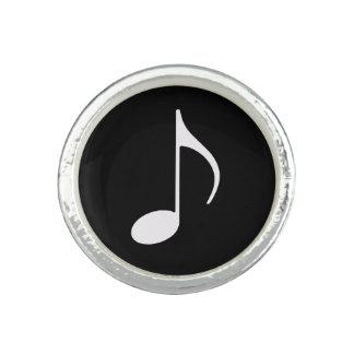 blackandwhite music note