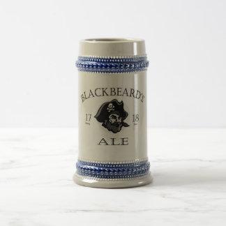 Blackbeard's Ale Beer Stein