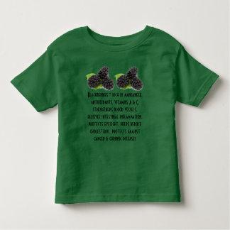 Blackberries toddler shirt