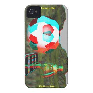 BlackBerry Bold 3D Soccer Girl Case