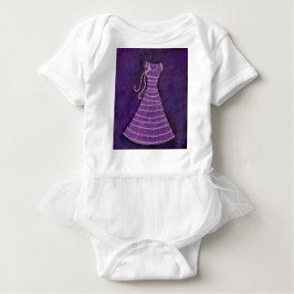 Blackberry Crush Dress. Baby Bodysuit
