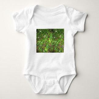 Blackberry vines berries leaves nature photo on baby bodysuit