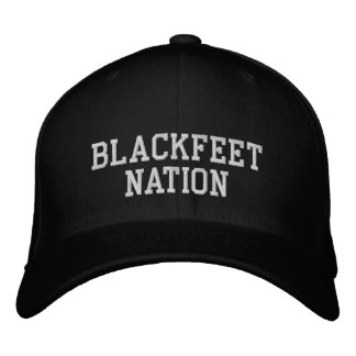 Blackfeet Nation Embroidered Hat