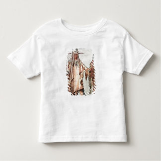 Blackfoot Indian Pe-Toh-Pee-Kiss, The Eagle Ribs Toddler T-Shirt