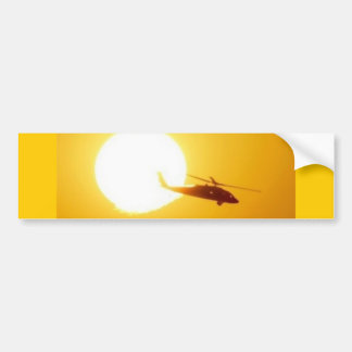 BLACKHAWK SUNSET BUMPER STICKER