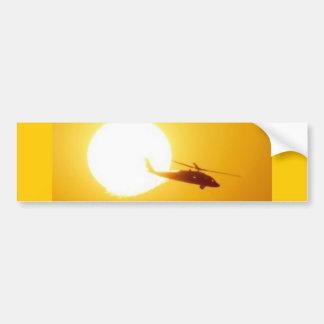 BLACKHAWK SUNSET BUMPER STICKERS