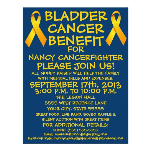 Bladder Cancer Benefit Flyer