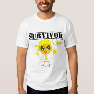 Bladder Cancer Survivor Chick T-shirt