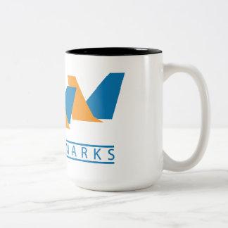 blah Two-Tone mug