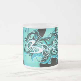 Blake Frosted Glass Coffee Mug