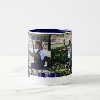 blake m Two-Tone coffee mug