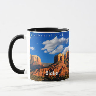 Blake on Cathedral Rock and Courthouse Mug
