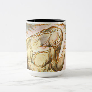 Blake's Jazz Hands Two-Tone Coffee Mug