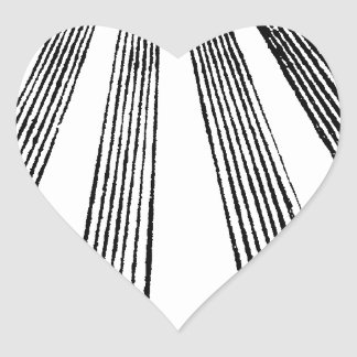 Blame It On The Masons Heart Sticker