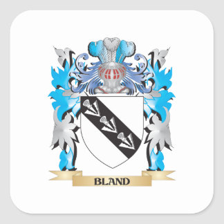 Bland Coat of Arms Square Sticker