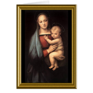 Blank Card - Madonna and Child