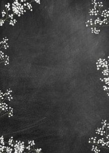 Blank Chalkboard Invitation Template from rlv.zcache.co.nz