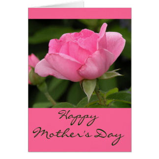Blank Inside- Happy Mother's Day Card