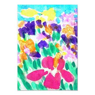 Blank Multicolor invitations