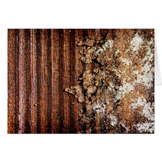 Blank Note Card - Texture