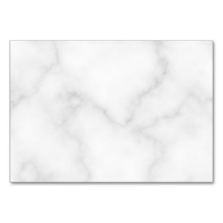 Blank White Marble Wedding Advice and Wishes Card
