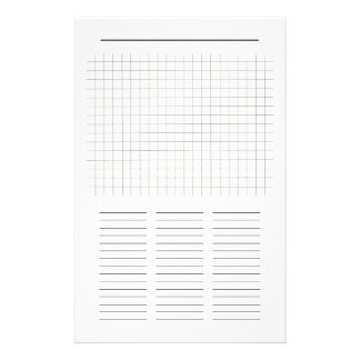 Blank Word Search Puzzle Paper to fill in Customised Stationery