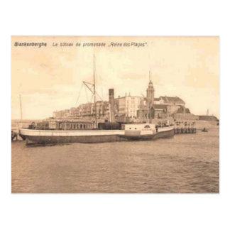 Blankenberghe Replica card c. 1900 Postcard