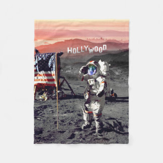 Blanket - Hollywood Moon Man Fleece Blanket