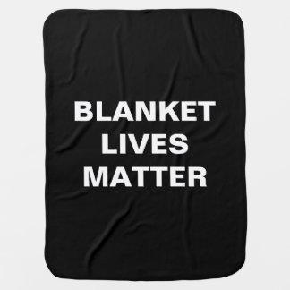 BLANKET LIVES MATTER Luvie Blankie Pramblankets