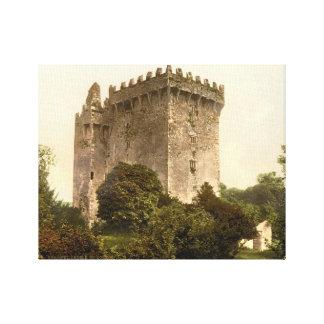 Blarney Castle Cork, Ireland, vintage print c1900 Gallery Wrap Canvas