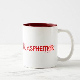 Blasphemer Two-Tone Coffee Mug