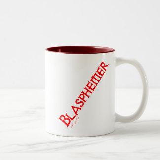 Blasphemer Two-Tone Mug