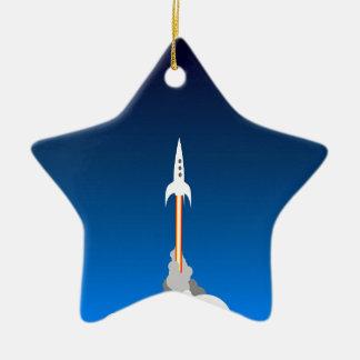 Blast Off! Christmas Ornament