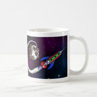 Blast-off Rocket Coffee Mug