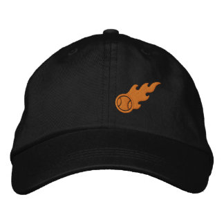 Blazing ACE Tennis Embroidered Baseball Caps