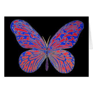 Blazing Butterfly Card