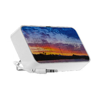 Blazing Sunset by Johnny Crash Travelling Speakers
