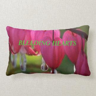 bleeding hearts throw cushions
