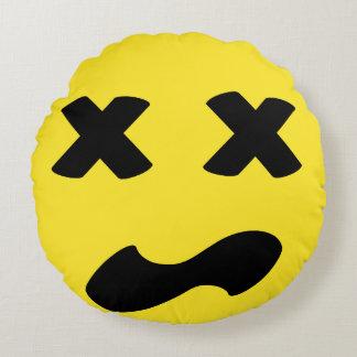 Bleh Face Round Cushion