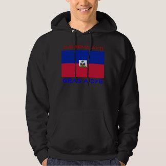 Bless Haiti mens hoodie